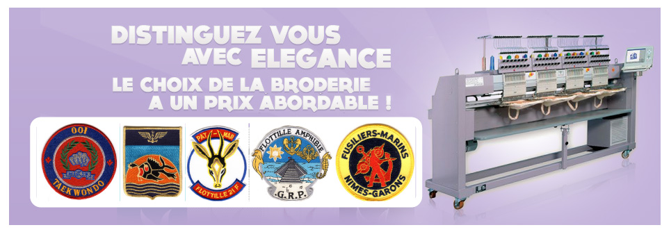 PROMO BRODERIE